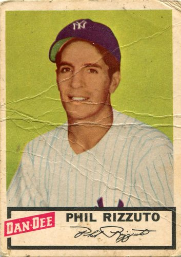 Photo of 1954 Dan-Dee #19 Phil Rizzuto  -- Hall of Famer