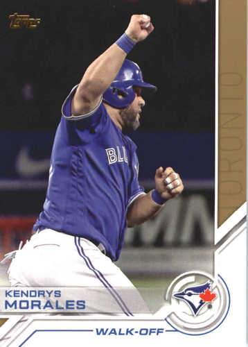 Photo of 2017 Topps Update Salute #USS27 Kendrys Morales