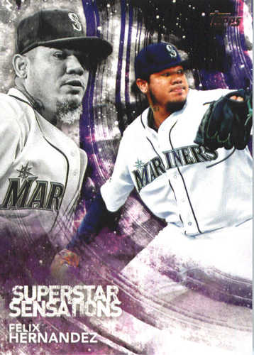 Photo of 2018 Topps Superstar Sensations #SSS18 Felix Hernandez