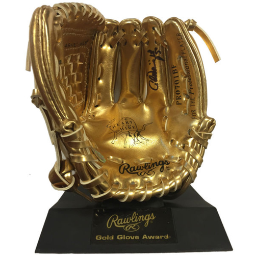 Photo of Cardinals Authentics: Adam Wainwright Autographed Mini Gold Glove