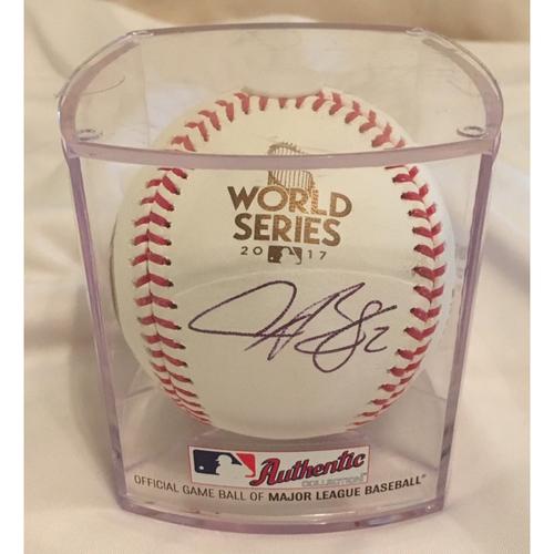Photo of Autographed Alex Bregman World SeriesBaseball - Not MLB Authenticated