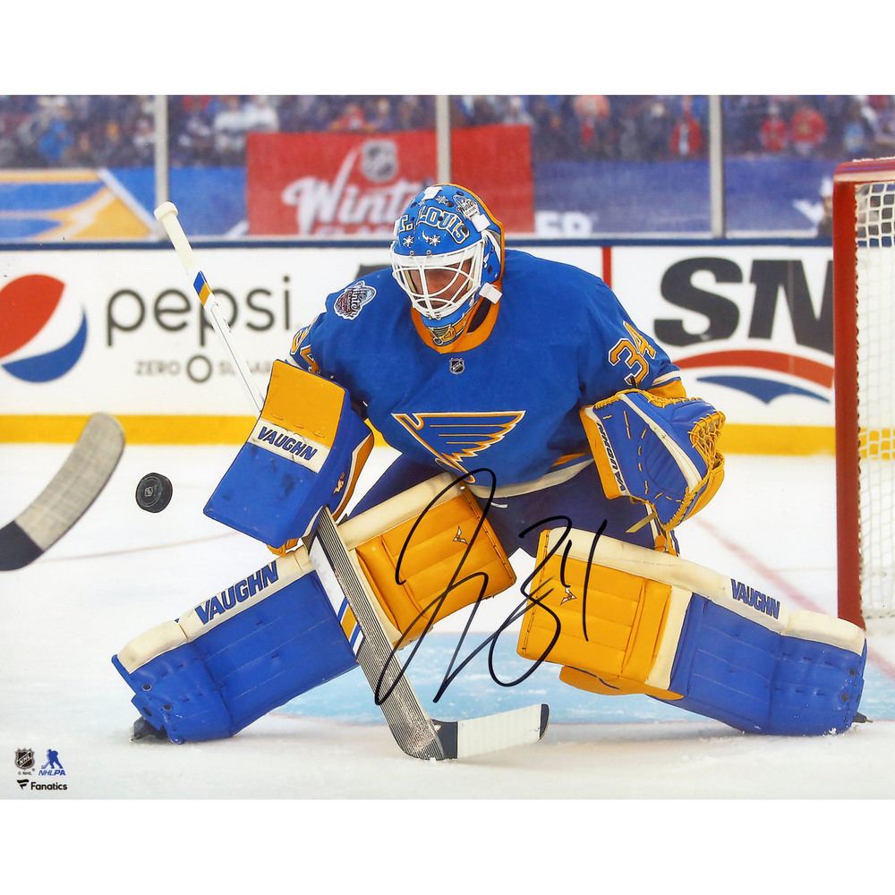 Jake Allen St. Louis Blues Autographed 8