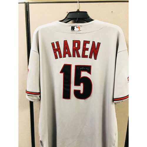 Photo of 2009 Dan Harren Autographed Jersey  - Size 50