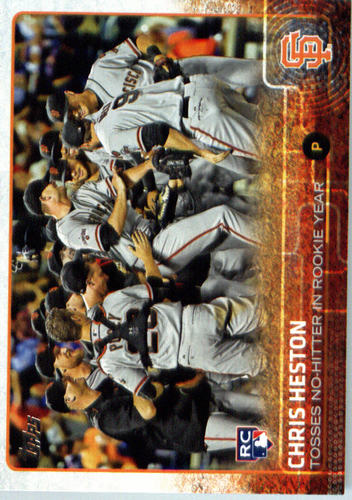 Photo of 2015 Topps Update #US321 Chris Heston RC