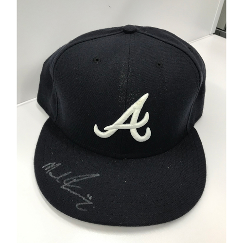 Photo of Mike Foltynewicz Autographed Cap