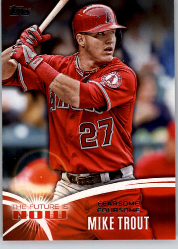 Photo of 2014 Topps The Future is Now #FN19 Mike Trout
