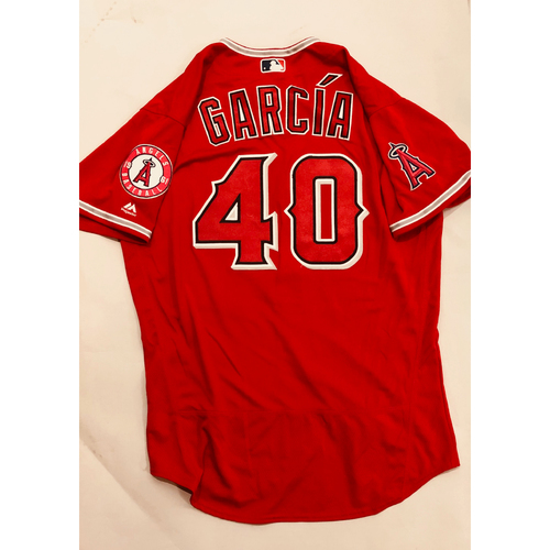 Photo of 2019 Mexico Series - Game-Used Jersey - Luis Garcia, Houston Astros at Los Angeles Angels - 5/4/19
