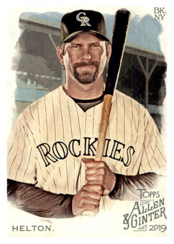 Photo of 2019 Topps Allen and Ginter #105 Todd Helton