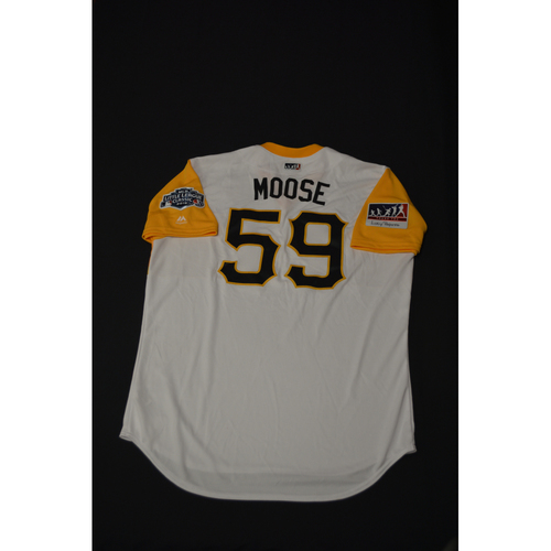 "Photo of 2019 Little League Classic - Game Used Jersey - Joe  ""Moose"" Musgrove,  Chicago Cubs at Pittsburgh Pirates - 8/18/2019 (Size - 48)"