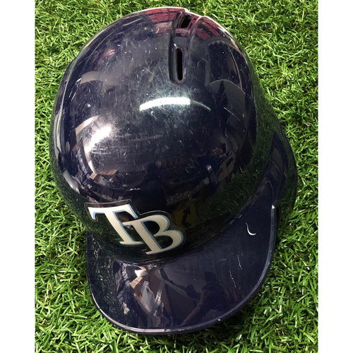 Photo of 2018 Game Used Helmet: Daniel Robertson HOME RUN - July 23, 2018 v NYY