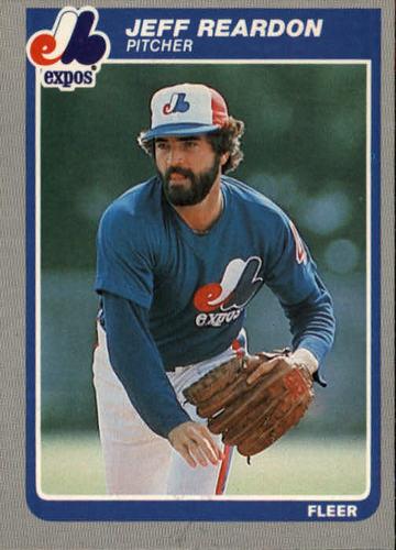 Photo of 1985 Fleer #407 Jeff Reardon
