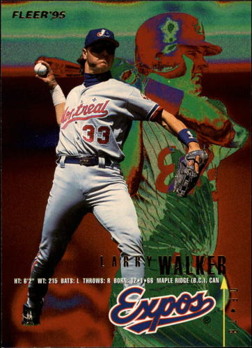Photo of 1995 Fleer #361 Larry Walker