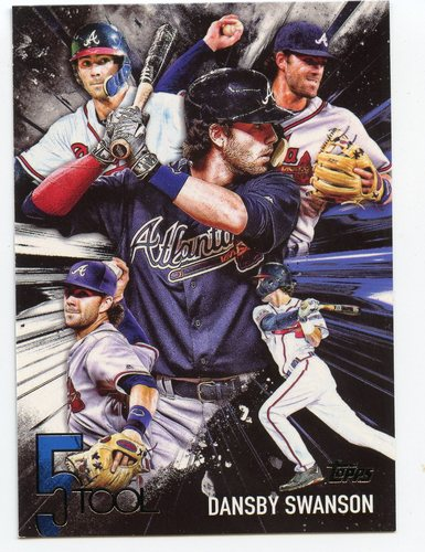 Photo of 2017 Topps Five Tool #5T48 Dansby Swanson