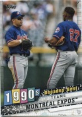 Photo of 2020 Topps Decades' Best Series 2 #DB72 Montreal Expos