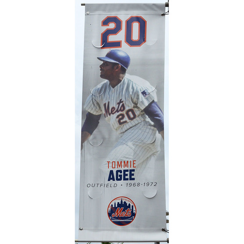 Photo of Tommie Agee - Citi Field Banner - 2019 Season