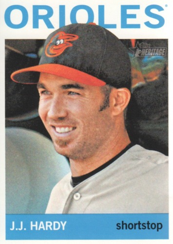 Photo of 2013 Topps Heritage #221 J.J. Hardy