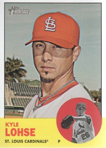 Photo of 2012 Topps Heritage #97 Kyle Lohse