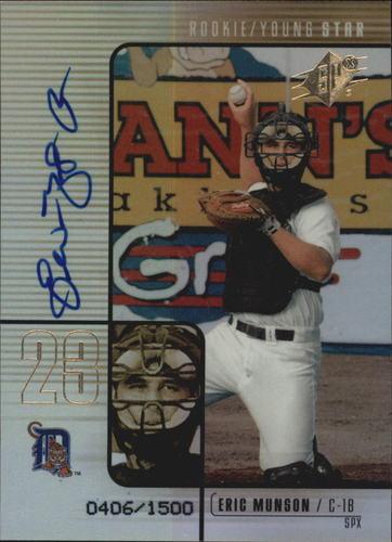Photo of 2000 SPx #103 Eric Munson AU/1500