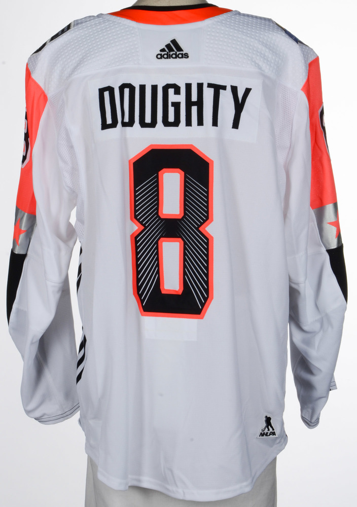 Drew Doughty LA Kings Game-Used 2018 All-Star Game Jersey