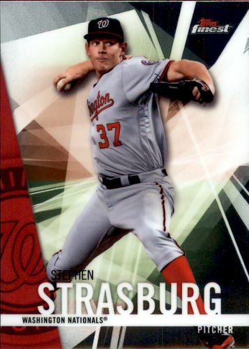 Photo of 2017 Finest #49 Stephen Strasburg
