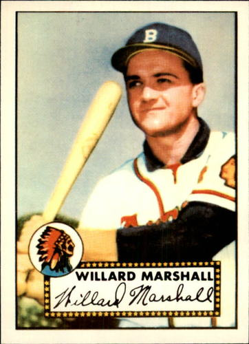 Photo of 1983 Topps 1952 Reprint #96 Willard Marshall