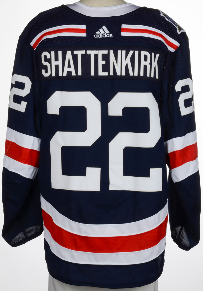 Kevin Shattenkirk New York Rangers Game-Worn 2018 NHL Winter Classic Jersey