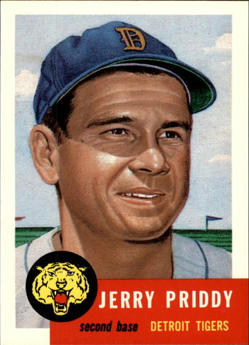 Photo of 1991 Topps Archives 1953 #113 Jerry Priddy