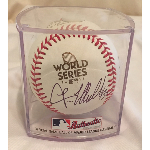 Photo of Autographed Lance McCullers, Jr World Series Baseball - Not MLB Authenticated