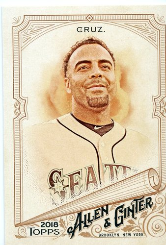 Photo of 2018 Topps Allen and Ginter #72 Nelson Cruz