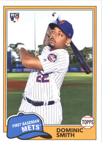 Photo of 2018 Topps Archives #286 Dominic Smith RC