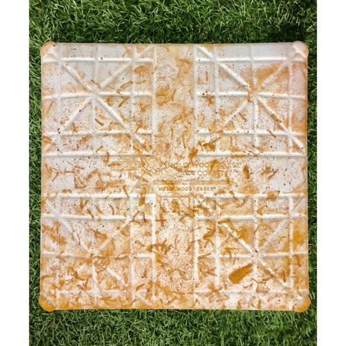 Photo of Game-Used Second Base: Michael Chavis First MLB Start - April 21, 2019 v BOS