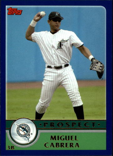 Photo of 2003 Topps Traded #T126 Miguel Cabrera PROS