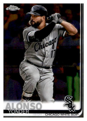 Photo of 2019 Topps Chrome #102 Yonder Alonso