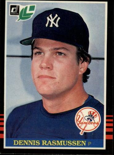Photo of 1985 Leaf/Donruss #48 Dennis Rasmussen