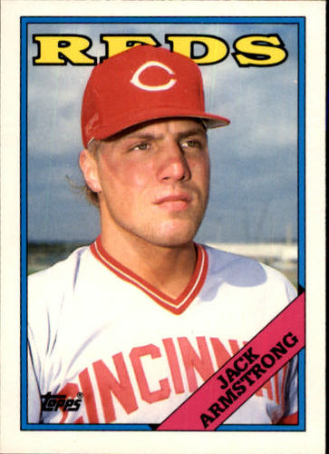 Photo of 1988 Topps Traded #6T Jack Armstrong XRC