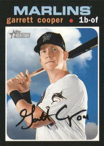Photo of 2020 Topps Heritage #159 Garrett Cooper