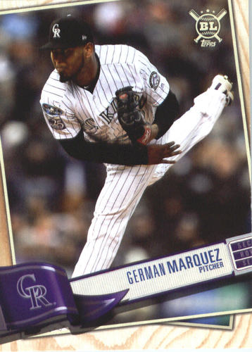 Photo of 2019 Topps Big League #86 German Marquez