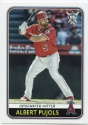 Photo of 2020 Topps Big League #113 Albert Pujols