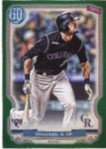 Photo of 2020 Topps Gypsy Queen Green #265 Sam Hilliard