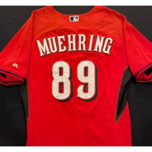 Photo of MUEHRING -- Authentic Reds Jersey -- $1 Jersey Auction -- $5 Shipping -- Size 46 (Not MLB Authenticated)