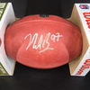 NFL - 49ers Nick Bosa Signed Authentic Football with NFL 100 Logo