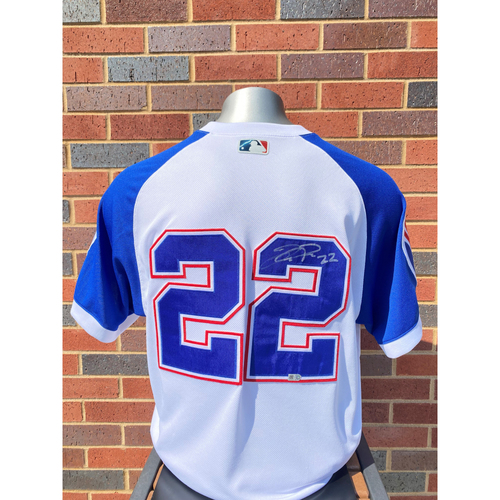 Photo of Joc Pederson MLB Authenticated, Autographed (Team-Issued or Game-Used) 1974 Style Jersey