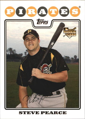 Photo of 2008 Topps #127 Steve Pearce RC