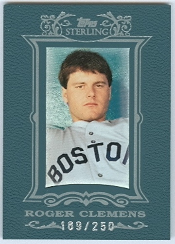 Photo of 2007 Topps Sterling #110 Roger Clemens