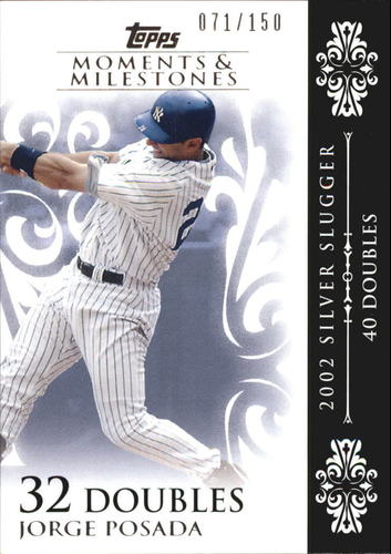 Photo of 2008 Topps Moments and Milestones #65-32 Jorge Posada
