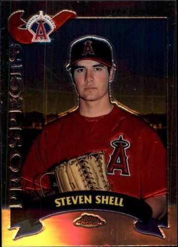 Photo of 2002 Topps Chrome Traded #T256 Steven Shell RC