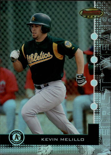 Photo of 2005 Bowman's Best #37 Kevin Melillo FY RC