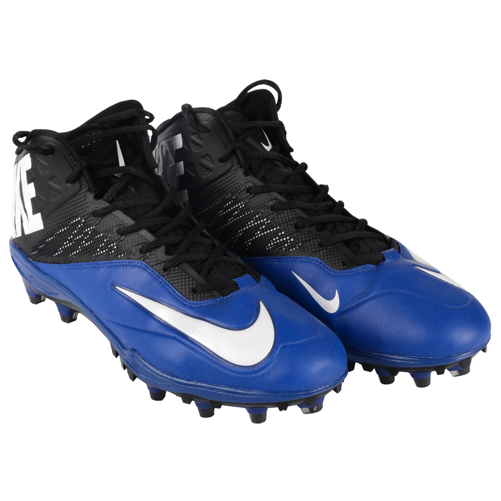 Bjoern Werner Indianapolis Colts 1/11/14  Player issued Cleats vs. New England Patriots