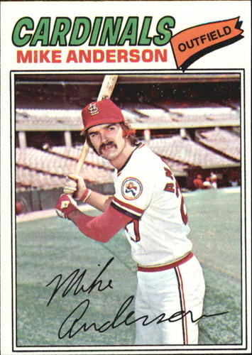 Photo of 1977 Topps #72 Mike Anderson