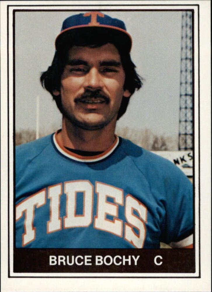 1982 Tidewater Tides TCMA #6 Bruce Bochy